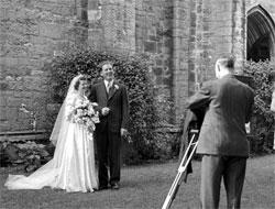 Wedding photography, 1945